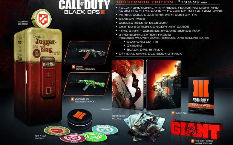 call of duty black ops 3 juggernog edition pre-order
