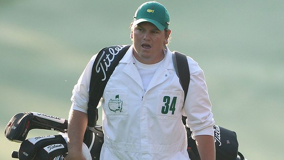Matt Kelly, Marc Leishman's caddie. (Getty)