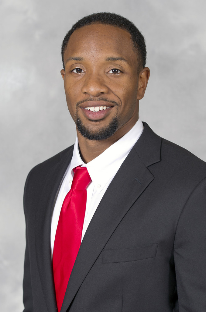 Dezmine Wells as he appears in his Terrapin profile. Joe Deters famously condemned Xavier University's investigation of Wells, leading to no charges being filed against Wells for sexual assault. (University of Maryland)