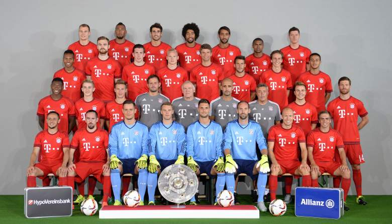 Bayern Munich won the Bundesliga in 2014-2015 for the third straight season and looks for their 25th German title in 2015-2016. (Getty)