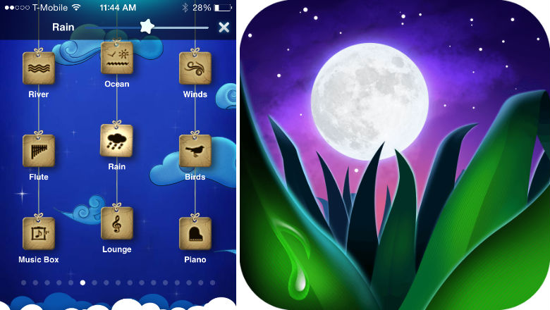 meditation app, rest and relaxation apps, sleeping apps