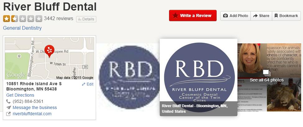 River Bluff Dental, Dr. Walter Palmer, Walter Palmer yelp, River Bluff Dental yelp, walter palmer dds