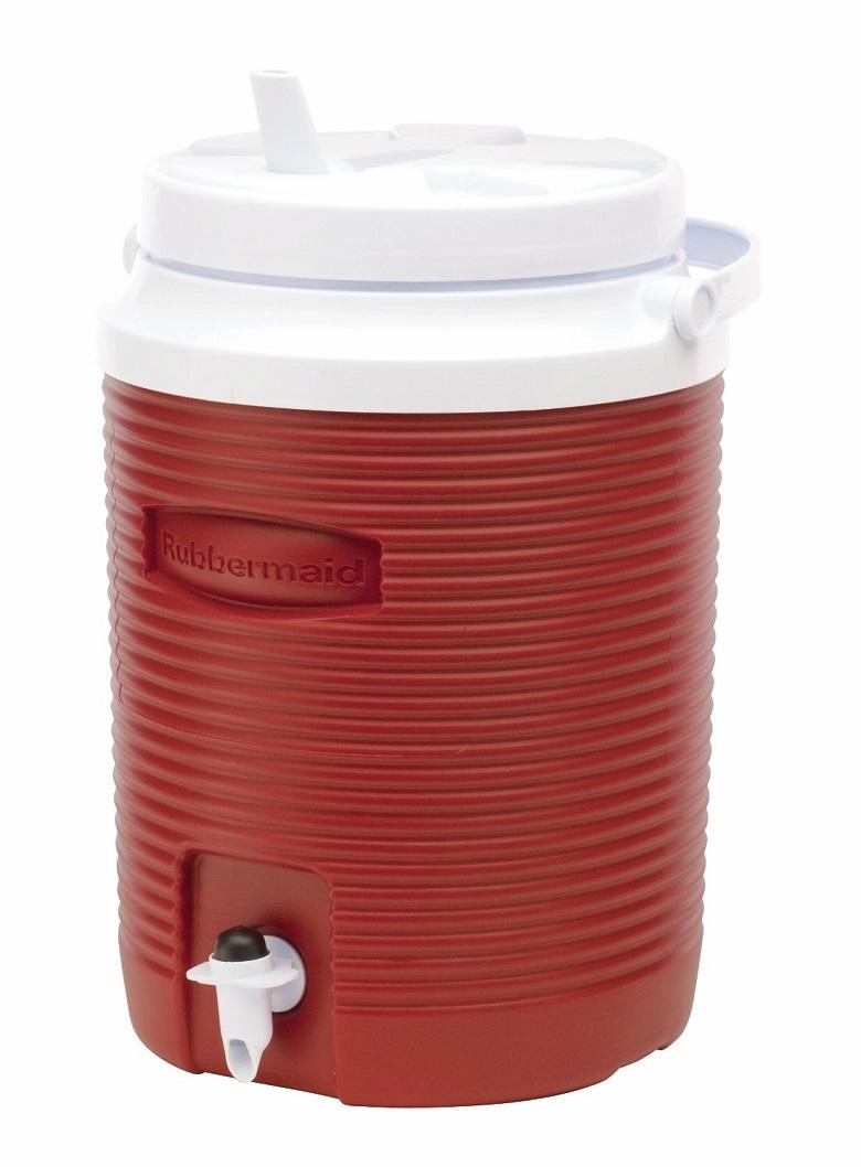 Rubbermaid Victory Jug Water Cooler, Modern Red, 2-gallon, rubbermaid victory jug water cooler, water cooler