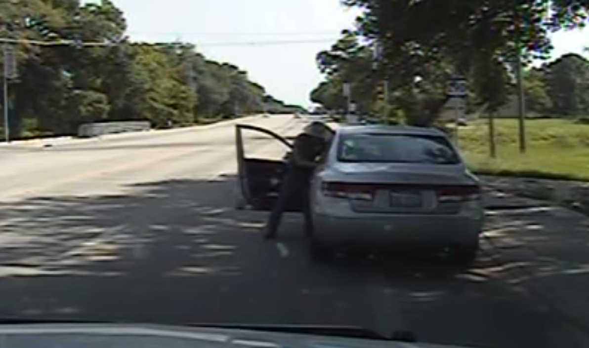 Sandra Bland, Brian Encinia, trooper texas, sandra bland traffic stop video