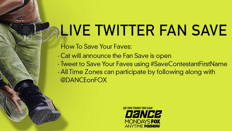 SYTYCD App, So You Think You Can Dance, So You Think You Can Dance 2015, So You Think You Can Dance Season 12 Voting, How To Vote Online For So You Think You Can Dance, So You Think You Can Dance App, So You Think You Can Dance Twitter Fan Save, SYTYCD Voting, How To Vote For So You Think You Can Dance Contestants