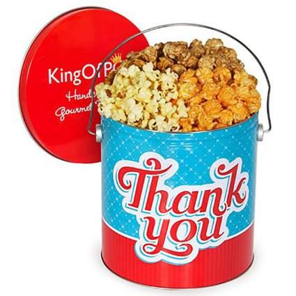 GourmetGiftBaskets.com popcorn bucket