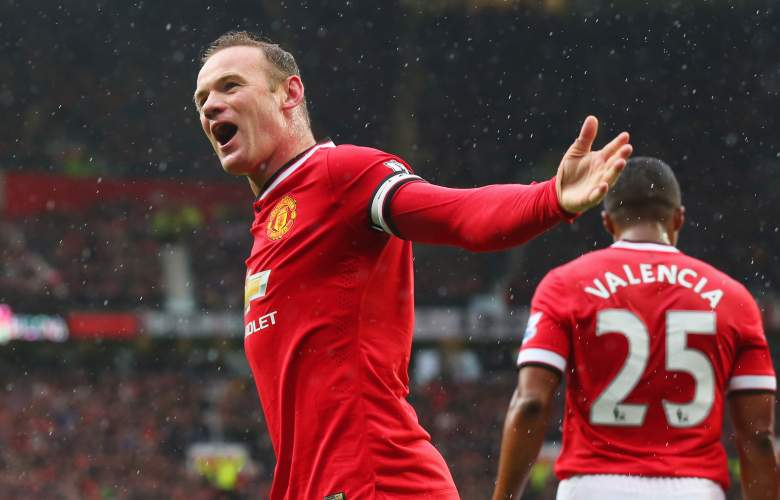Manchester United captain Wayne Rooney leads the Red Devils in the 2015-2016 season. (Getty)