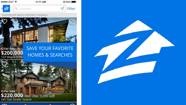 zillow real estate app