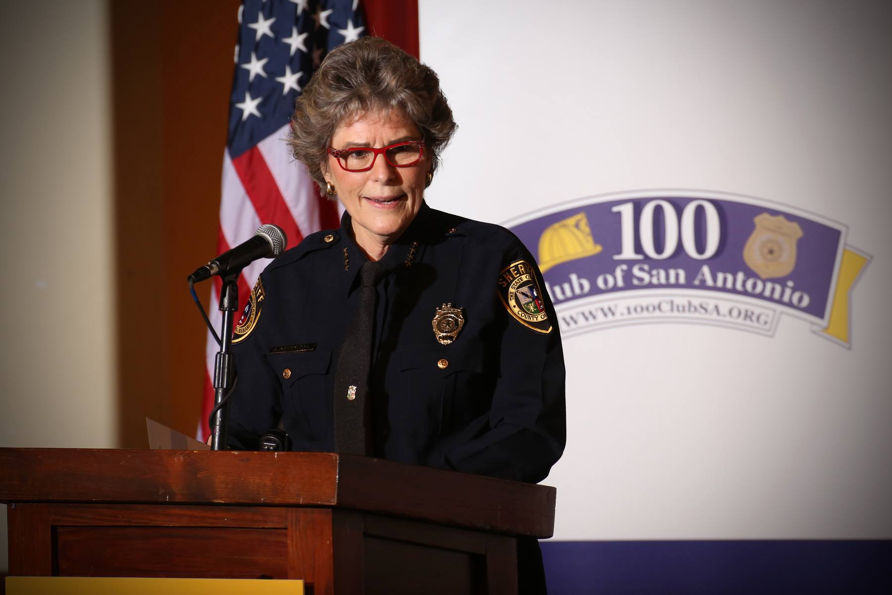 Bexar County Sheriff Susan Pamerleau (Bexar County Sheriff's Office/Facebook)