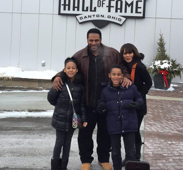 Bettis and his family took a trip to Canton earlier this year. Now, they're back for a slightly different reason - to see the former Steelers standout enshrined. (Twitter)