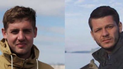 """Philip Pendlebury, left, and Jack Hanrahan, British journalists who were reporting for Vice News, have been detained in Turkey on terrorism charges called """"baseless"""" by their news organization."""