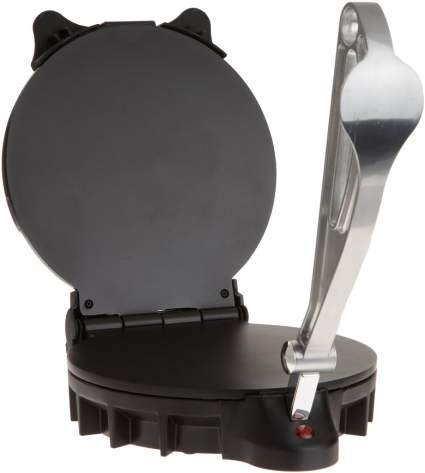 CucinaPro 1443 Flatbread and Tortilla Maker, tortilla press, tortilla maker