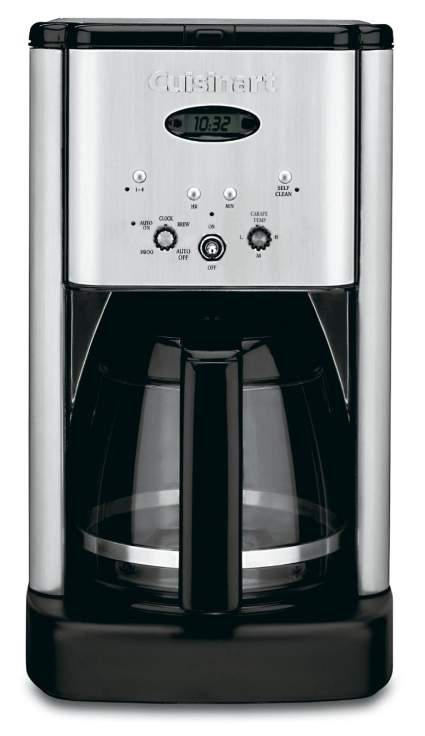 Cuisinart DCC-1200 Brew Central 12-Cup Programmable Coffeemaker, drip coffee maker