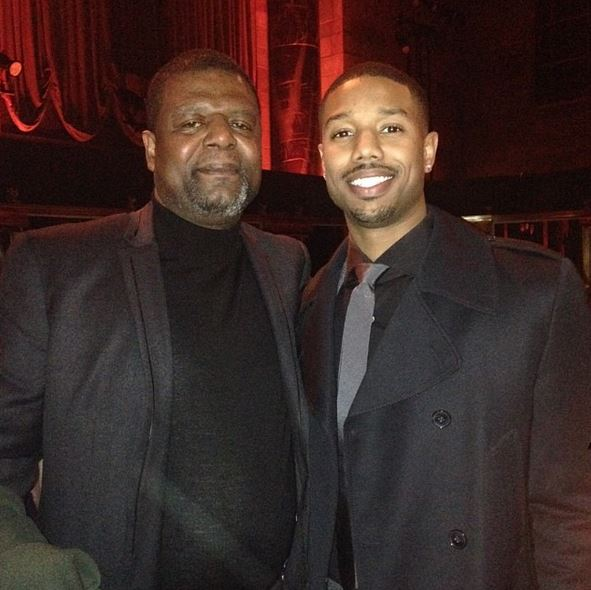 Jordan's dad is not the basketball-playing Michael Jordan. It's Michael A. Jordan. (Instagram)