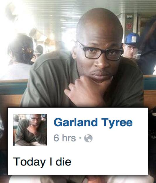 garland tyree facebook facebook status update today i die 9 trey gangsters