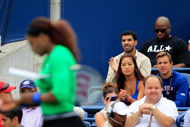 TORONTO, CANADA - AUGUST 14:  Drake attends the final between Serena Williams and Samantha Stosur of Australia on Day 7 of the Rogers Cup presented by National Bank at the Rexall Centre on August 14, 2011 in Toronto, Ontario, Canada.  (Photo by Chris Trotman/Getty Images)