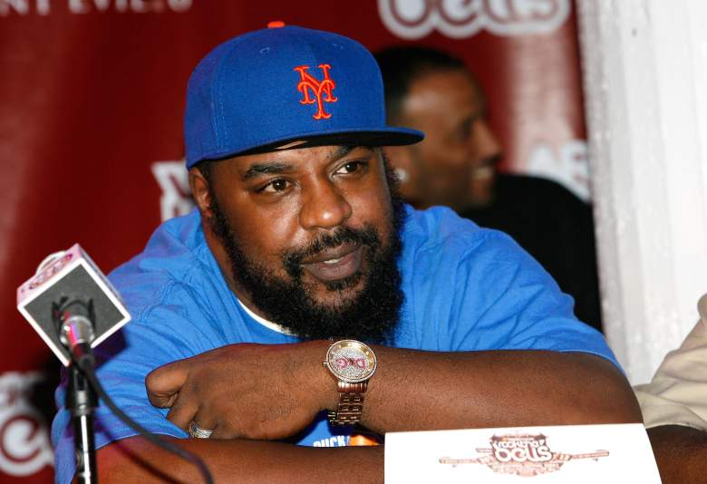 Rapper Sean Price speaks during the 2012 Rock the Bells Festival press conference and Fan Appreciation Party on at Santos Party House on June 13, 2012 in New York City.  (Photo by Mike Lawrie/Getty Images)