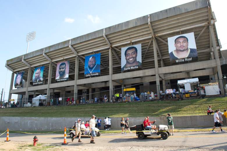 Tom Benson Stadium in Canton, Ohio is close to 80 years old. (Getty)
