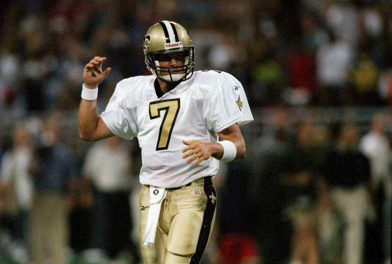 31 Aug 1997: Quarterback Danny Wuerffel of the New Orleans Saints looks on during a game against the St. Louis Rams at the Trans World Dome in St. Louis, Missouri. The Rams won the game, 38-24. Mandatory Credit: Stephen Dunn /Allsport