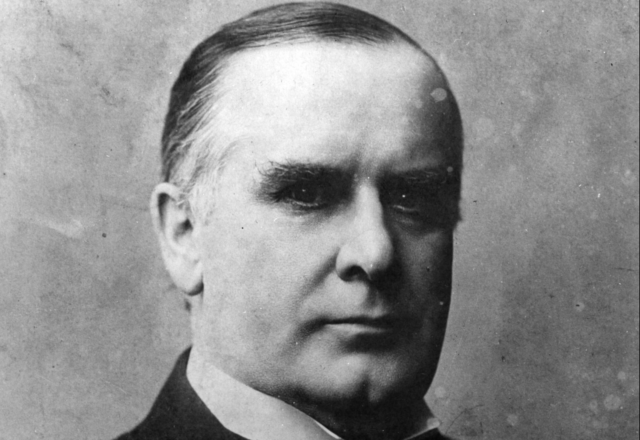 President William McKinley. Getty