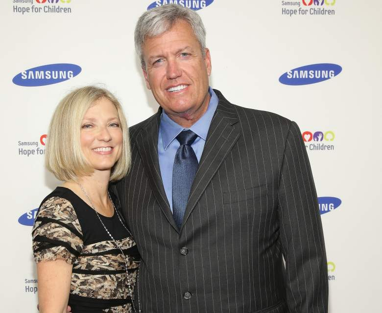 Rex Ryan and his wife Michelle. Getty)