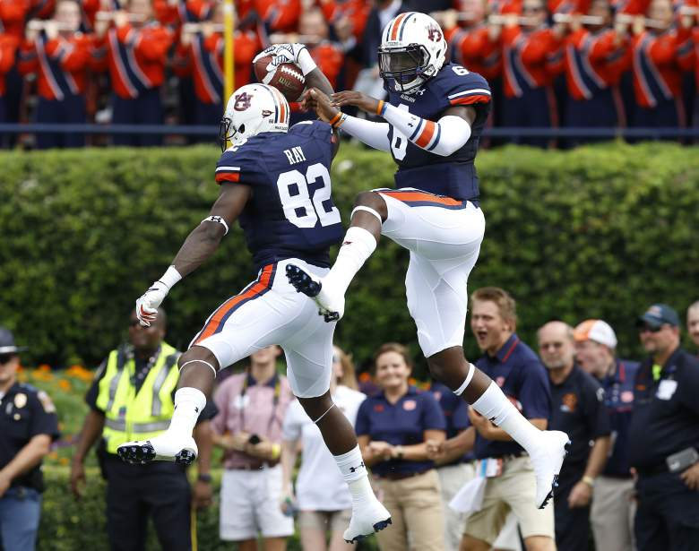 The expectations are high for Jeremy Johnson and Auburn. -Getty