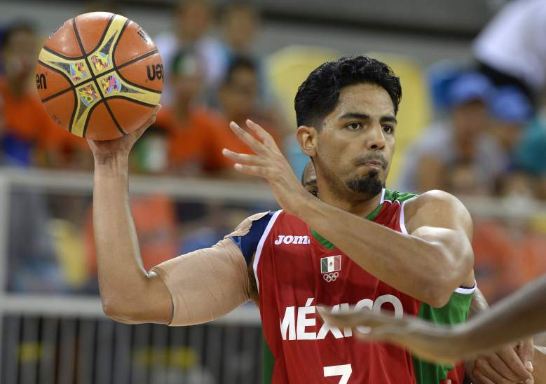Jorge Gutierrez and hosts Mexico are defending their 2013 FIBA Americas title. (Getty)