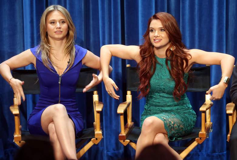 BEVERLY HILLS, CA - SEPTEMBER 12: Actresses Rita Volk (L) and Katie Stevens speak during The Paley Center for Media's PaleyFest 2014 Fall TV Preview - MTV at The Paley Center for Media on September 12, 2014 in Beverly Hills, California. (Photo by Frederick M. Brown/Getty Images)