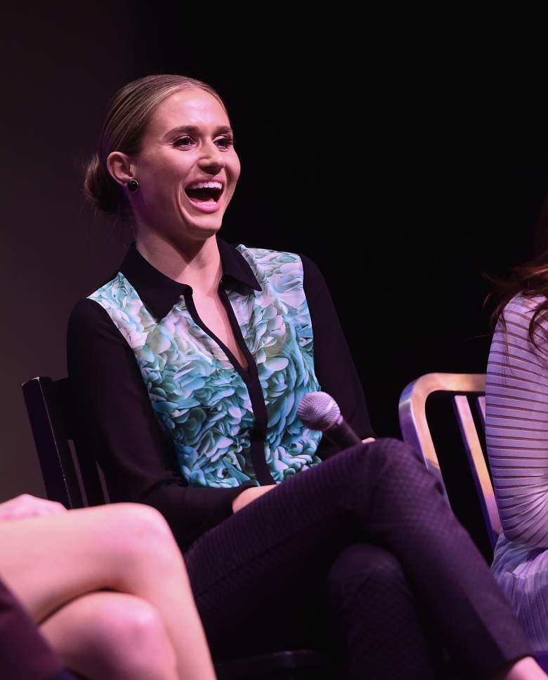 """WEST HOLLYWOOD, CA - SEPTEMBER 22:  Actress Rita Volk speaks during a Q&A after a screening of """"Faking It"""" Season 2 the The Village at Ed Gould Plaza on September 22, 2014 in West Hollywood, California.  (Photo by Michael Buckner/Getty Images for MTV)"""