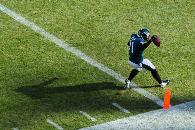 Eagles receiver Josh Huff has serious sleeper potential in Chip Kelly's high-powered offense. (Getty)