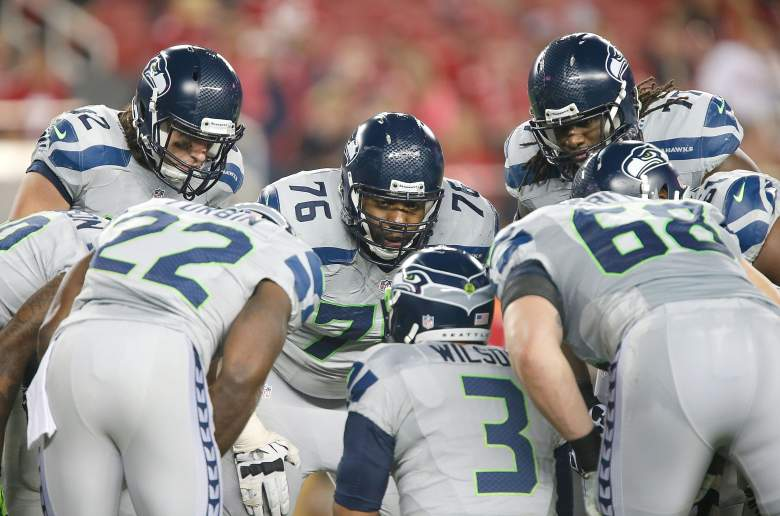 Wilson needs some protection from the offensive line. (Getty)