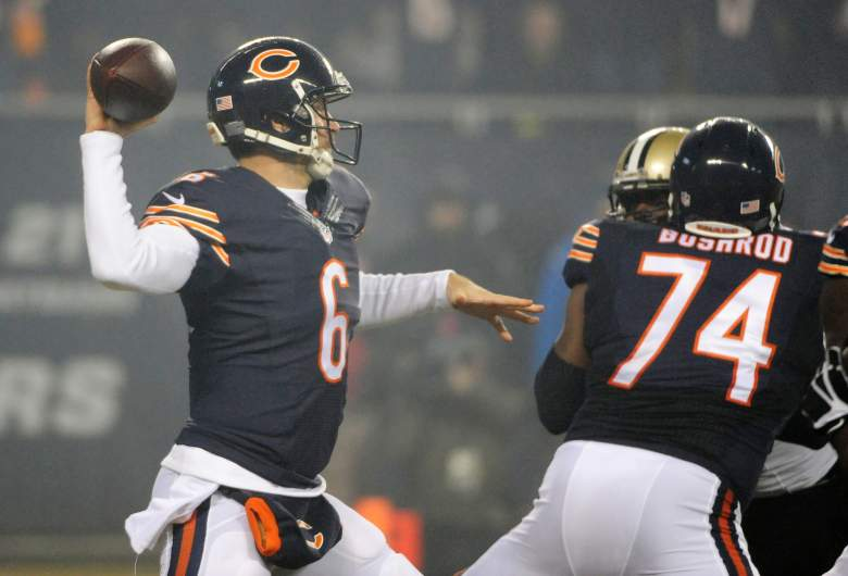 Cutler had thrown for 27,749 yards, 183 touchdowns and 130 interceptions in his nine-year career. Getty)