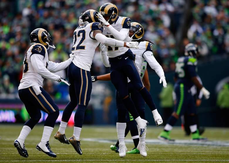 The St. Louis Rams are ready for the 2015 season. (Getty)