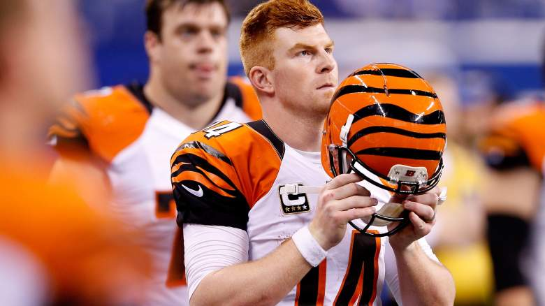 Andy Dalton and the Cincinnati Bengals begin the 2015 season, looking to return to the playoffs for the fifth consecutive year. (Getty)