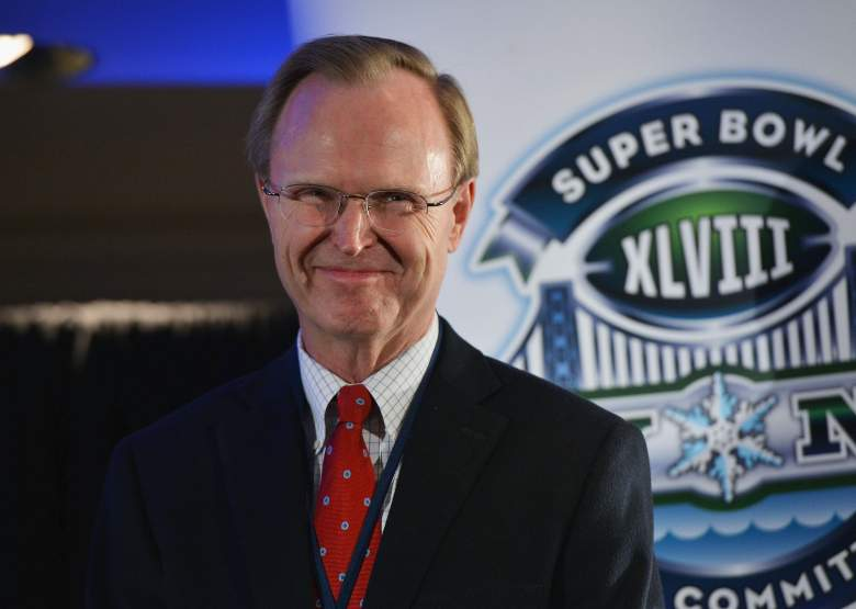 NEW YORK, NY - JANUARY 27: John Mara, President and CEO of The New York Giants attends the Super Bowl XLVIII Week Opening Press Conference at Super Bowl XLVIII Media Center on January 27, 2014 in New York City. (Photo by Slaven Vlasic/Getty Images)