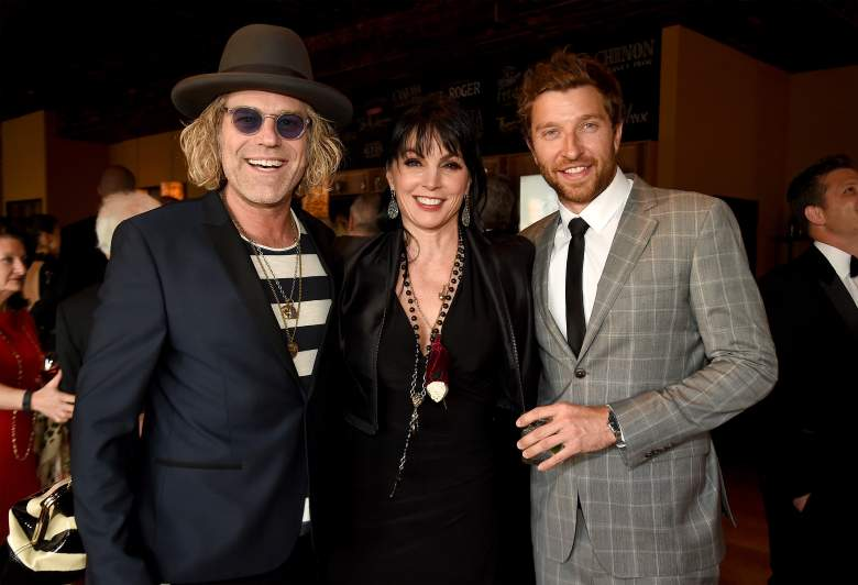 NASHVILLE, TN - APRIL 27: (L-R) Singer Big Kenny of Big & Rich, Christiev Carothers, and singer Brett Eldredge attend the 16th Annual Nashville Best Cellars Dinner hosted by the T.J. Martell Foundation at City Winery Nashville on April 27, 2015 in Nashville, Tennessee.  (Photo by Rick Diamond/Getty Images for T.J. Martell)