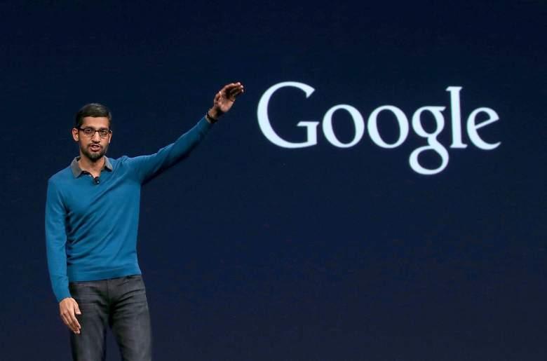Sundar Pichai Google CEO, Google Alphabet