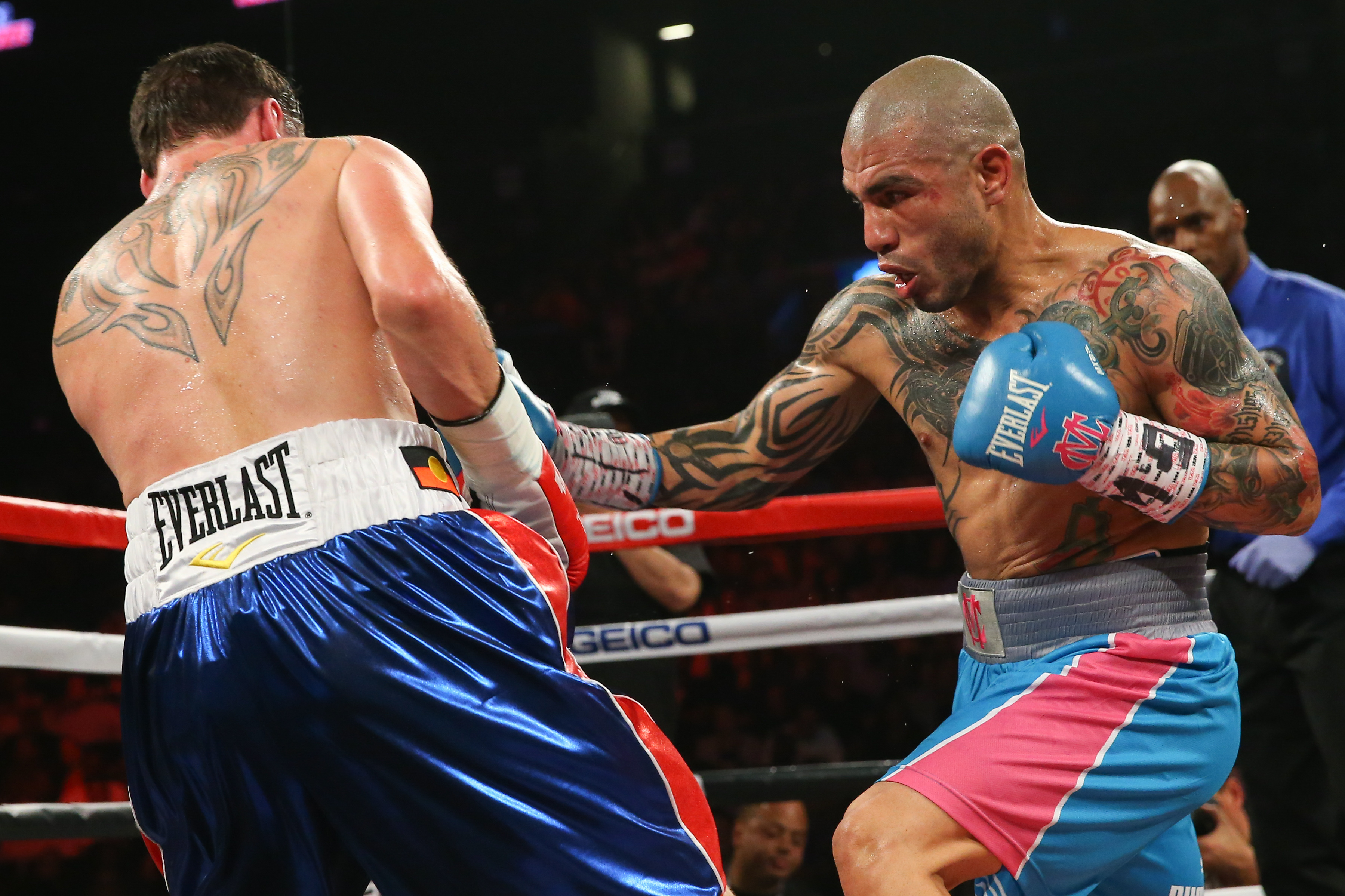Miguel Cotto will defend his middleweight world title against two time champ Canelo Alvarez. (Getty)