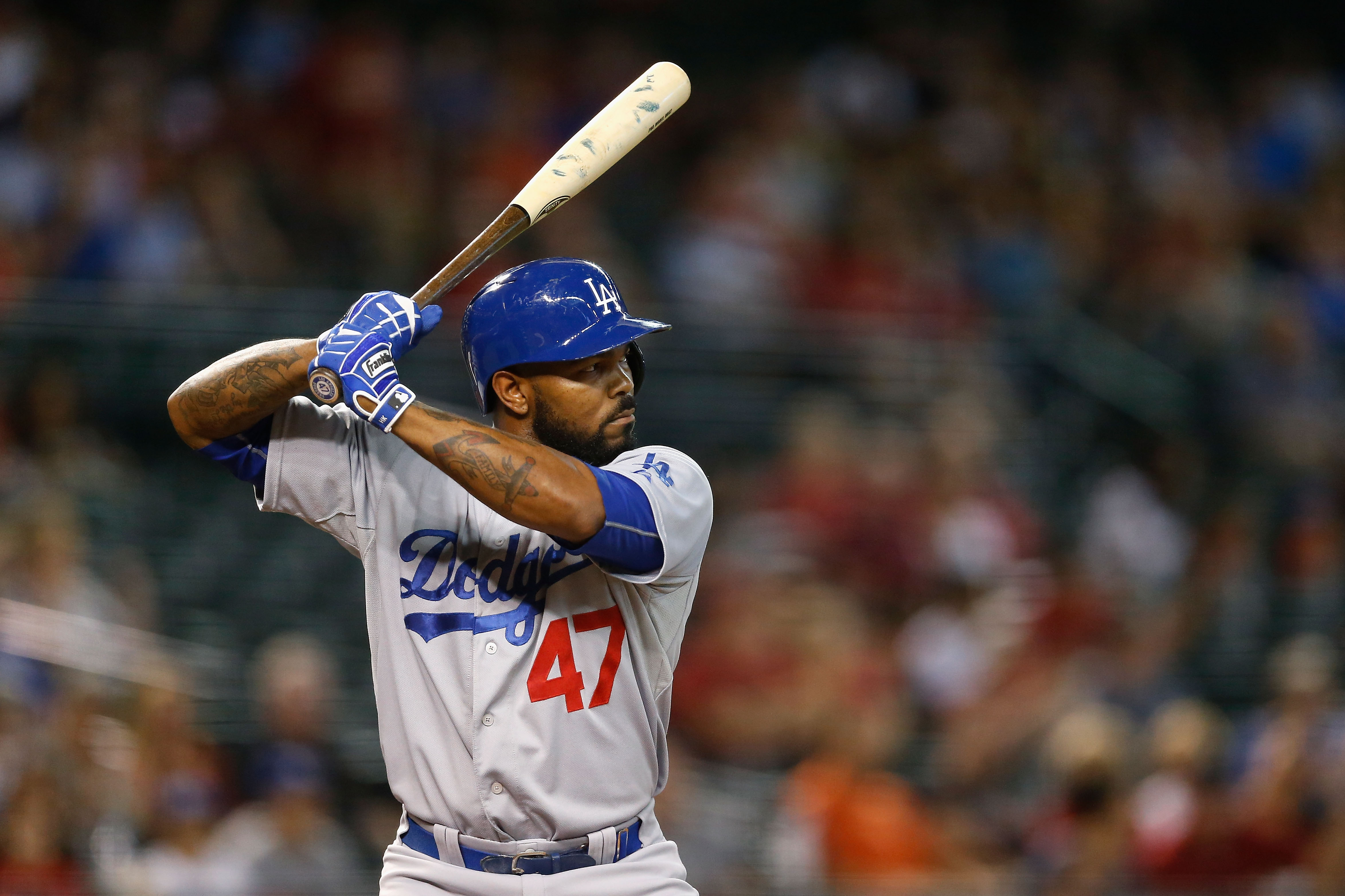 Howie Kendrick should stay hot tonight against the Phillies (Getty).
