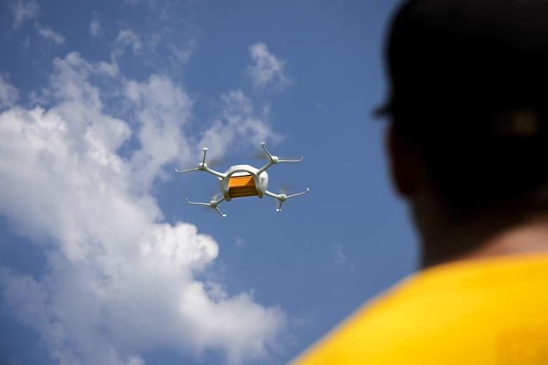 drone drug delivery, drone ohio prison