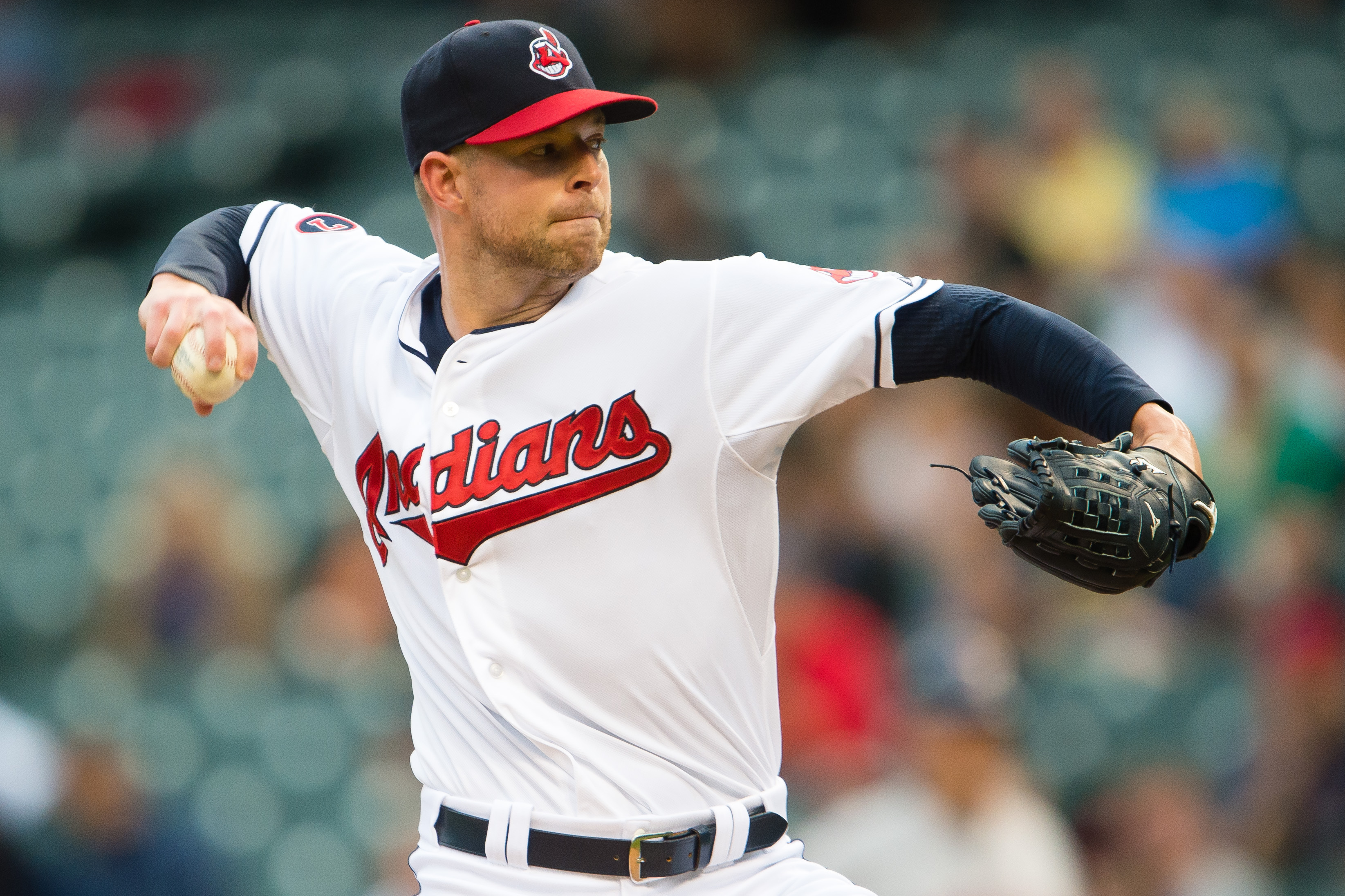 Corey Kluber has struck out ten or more batters six times this season (Getty).