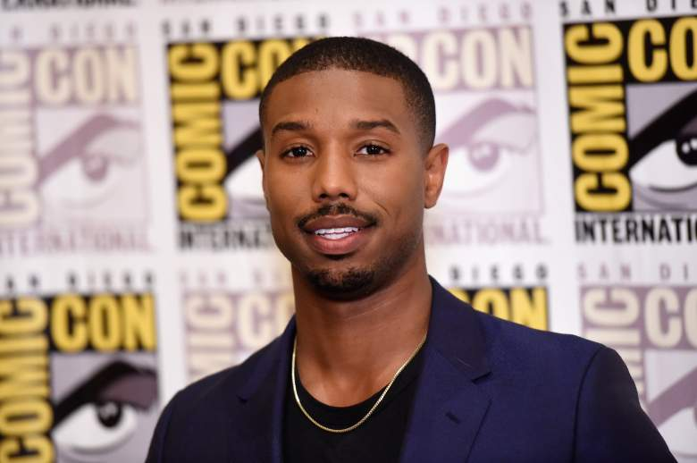 SAN DIEGO, CA - JULY 11: Actor Michael B. Jordan attends the 20th Century Fox press room during Comic-Con International 2015 at the Hilton Bayfront on July 11, 2015 in San Diego, California. (Photo by Jason Merritt/Getty Images)