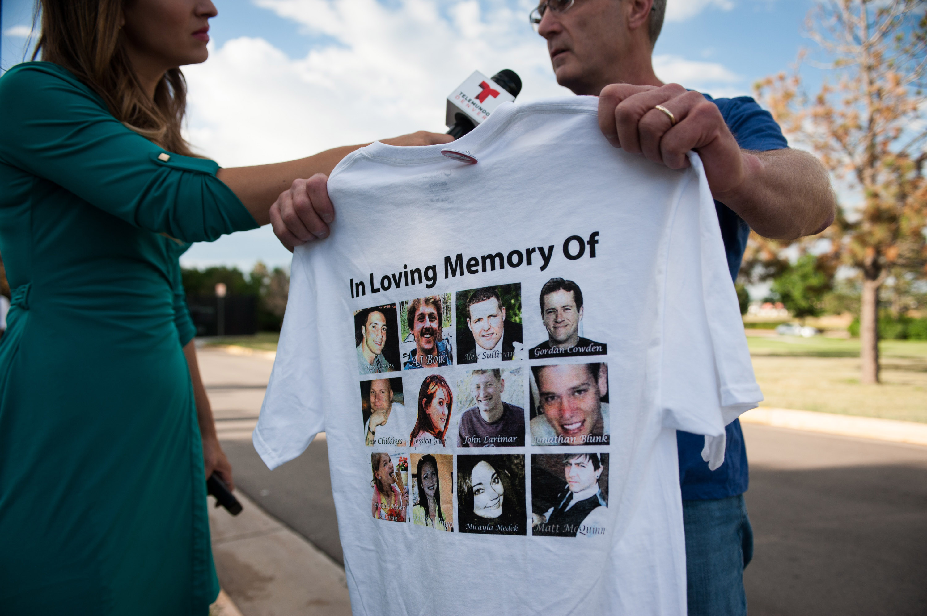 Tom Teves, the father of Aurora shooting victim Alex Teves. (Getty)