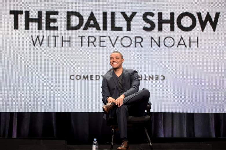 BEVERLY HILLS, CA - JULY 29: Host Trevor Noah speaks onstage during 'The Daily Show with Trevor Noah' panel at the Viacom TCA Presentation at The Beverly Hilton Hotel on July 29, 2015 in Beverly Hills, California. (Photo by Jason Kempin/Getty Images for Viacom)