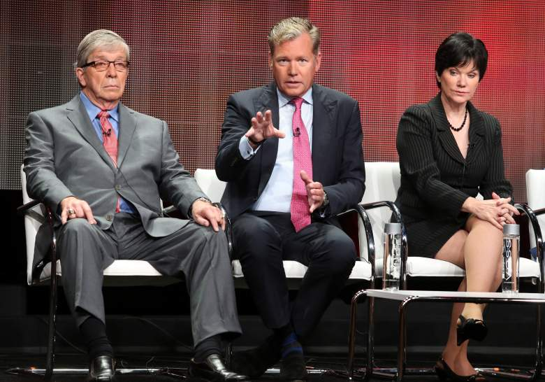 speaks onstage during the 'A New Season of ID' panel discussion at the Investgation Discovery portion of the 2015 Summer TCA Tour at The Beverly Hilton Hotel on July 30, 2015 in Beverly Hills, California.