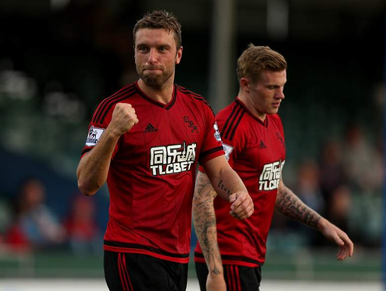 Now 33-years-old, Rickie Lambert will try to bag the goals for the Baggies this season. (Getty)