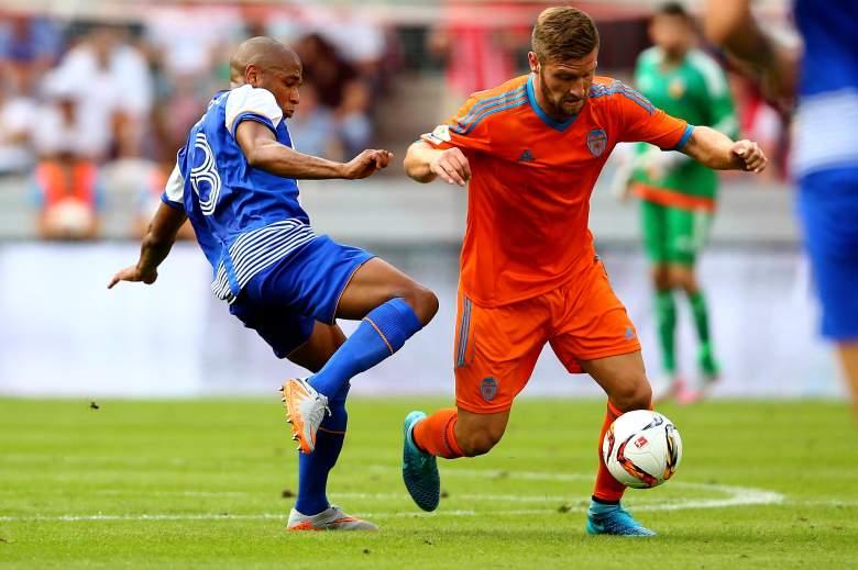 Valencia defender Shkodran Mustafi. Getty)