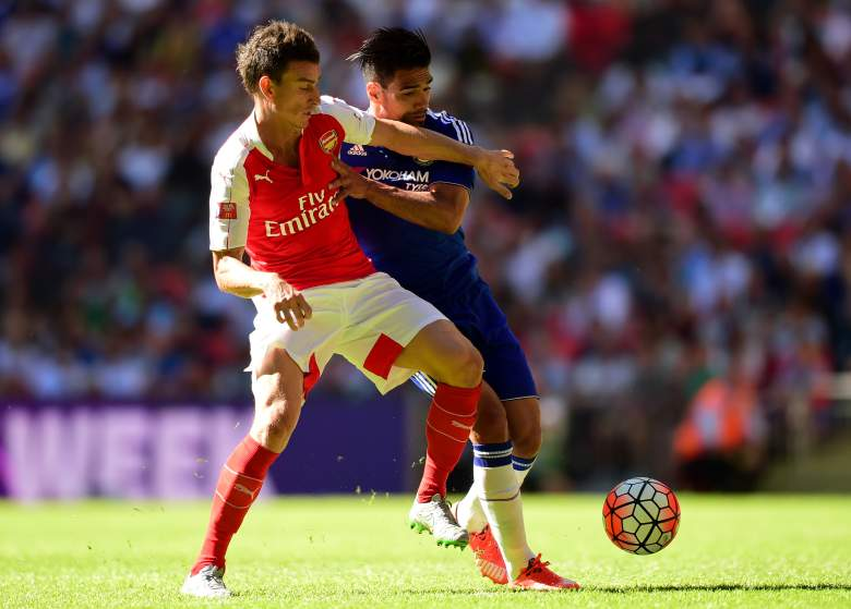 Arsenals Laurent Koscielny led a defense that blanked Chelsea in the Community Shield. Getty)