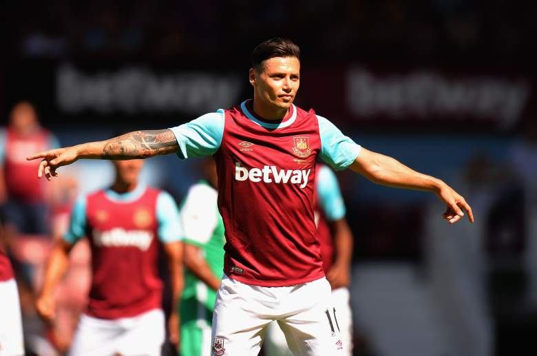 Will Mauro Zarate improve in his second season with the Hammers? (Getty)