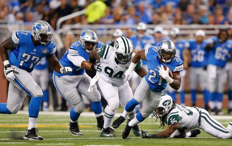 Lions rookie running back Ameer Abdullah has displayed elusiveness and explosion this preseason. (Getty)